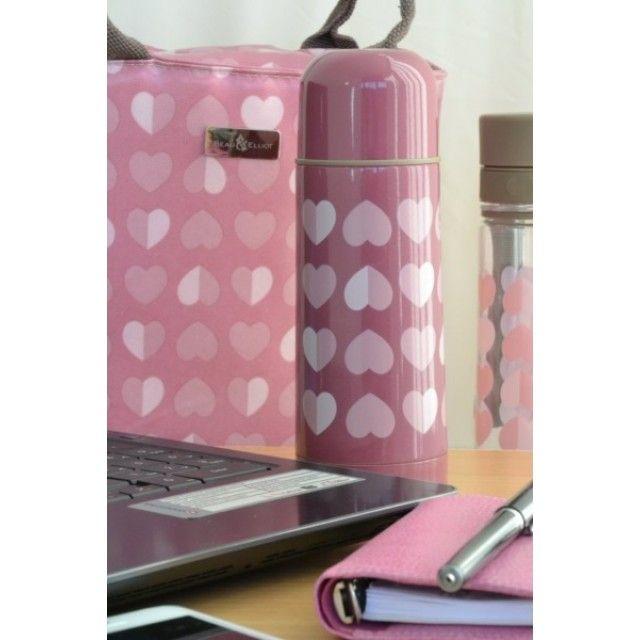 Beau & Elliot Pink Confetti 350ml Vacuum Flask