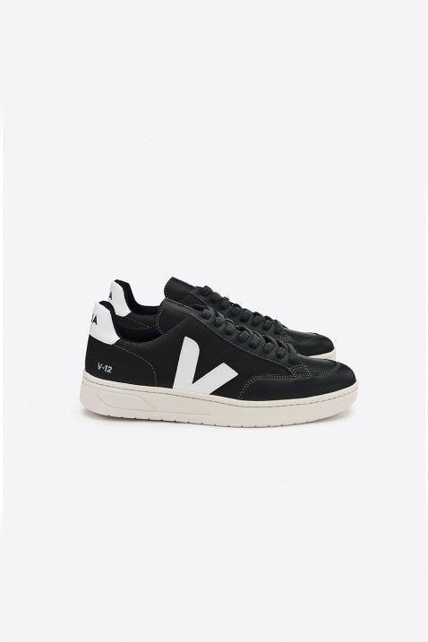 cbab7e98cfbc75 Veja men s white black sneakers -get 15% off  urbanmensfashion ...