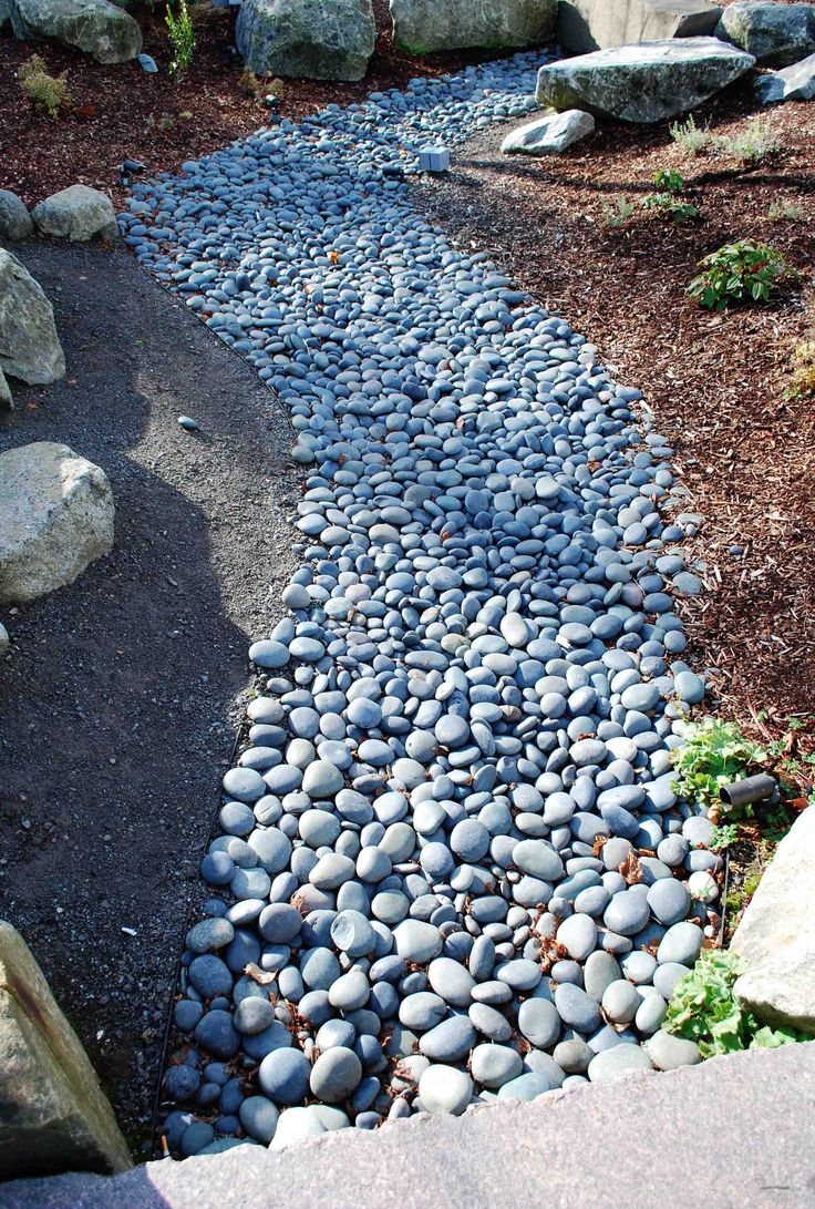 Best 25 pebbles for garden ideas on pinterest small for Smooth stones for landscaping