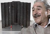L'Aut'Journal - Hommage à Michel Chartrand et à la force ouvrière.  Armand Vaillancourt crée une sculpture de dix mètres de hauteur, qui met en place pas moins de 20 plaques d'acier d'un poids de 24 tonnes chacune, le tout planté sur une base de béton coulée dans le Parc Michel-Chartrand, à Longueuil.