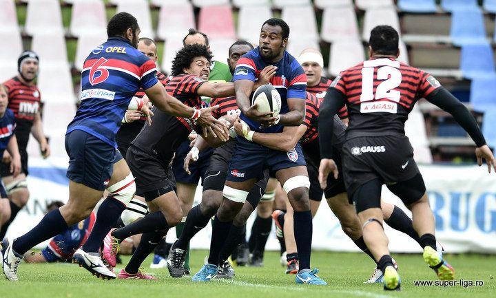 Finala Cupei Romaniei la rugby are loc la Iasi: CSA STEAUA BUCUREŞTI – TIMIŞOARA SARACENS RCM UVT