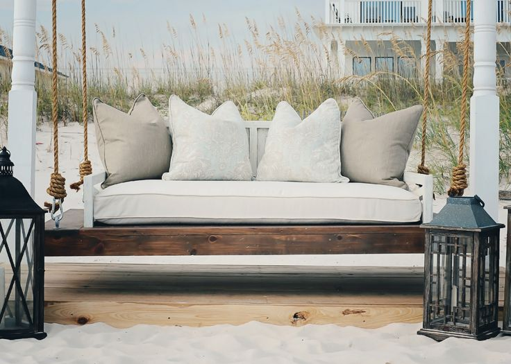 Porch Swings for Your Comfy Outdoor Furniture Ideas: Porch Swing Plans | Porch Swings | Amish Porch Swing