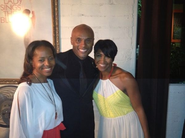 @kennylattimore, @terrijvaughn and @shannonnash celebrating an amazing and successful first year of @RealGreenRoom!!!