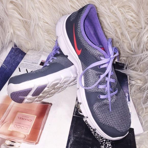Price Drop❗️Nike Woman Athletic Shoes Nike Better Woman Grey Purple w/ neon details athletic shoes. In great condition. Nike Shoes Athletic Shoes