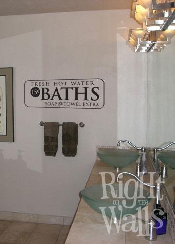 Best Bathroom Art Images On Pinterest Bathroom Art Bathroom - Bathroom vinyl decals