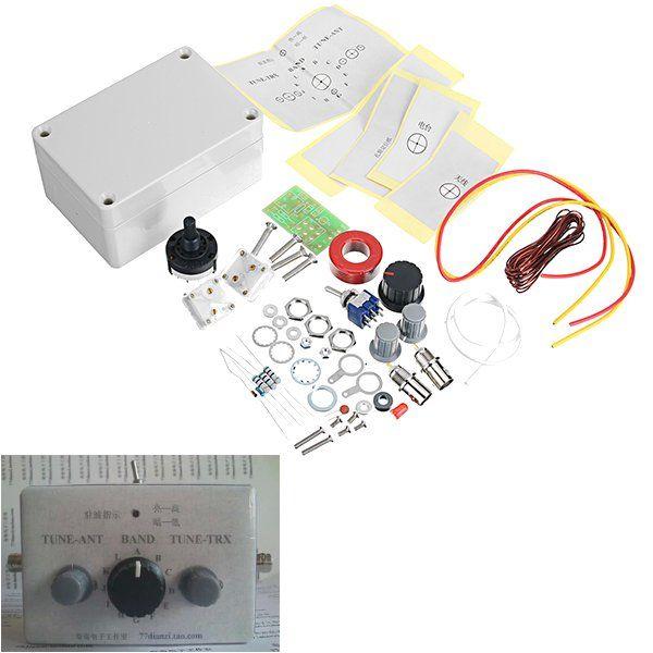 1-30Mhz LED VSWR DIY Manual Antena Kit sintonizador para HAM RADIO * CW QRP Q9 Interfaz BNC