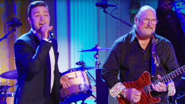 """Justin Timberlake Digs Up His Blues Roots With Amazing """"Dock Of The Bay"""" Cover With Steve Cropper!"""