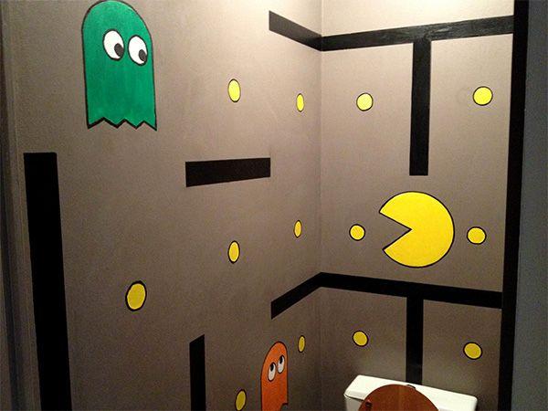 Pac-Man decorations | ToiletZone - La décoration de vos toilettes style : Pac Man