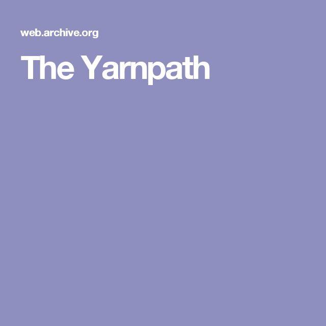The Yarnpath