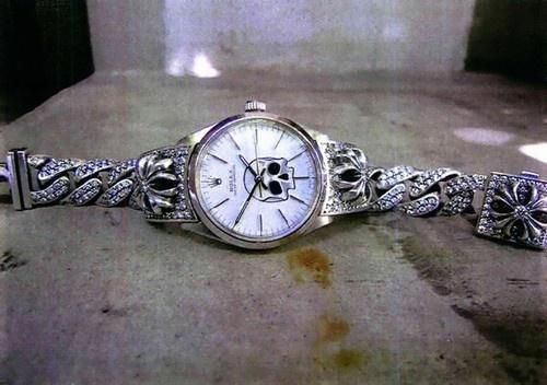 chromehearts watch mmmmmmmmm