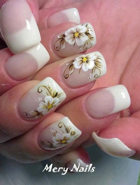 uñas decoradas / esamor.com.mx