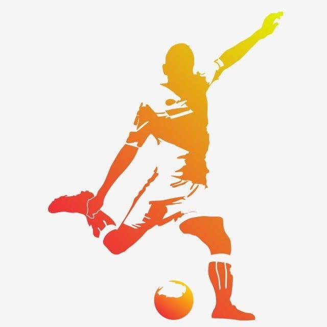 Jugador De Futbol De Silueta Silueta Jugador De Futbol Futbol Png Y Vector Para Descargar Gratis Pngtree In 2020 Soccer Silhouette Soccer Players Football Silhouette