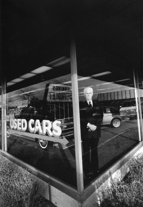Used Car Salesman by Eugene Richards