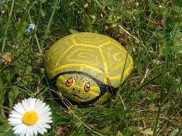 como pintar piedras para decorar jardines buscar con google