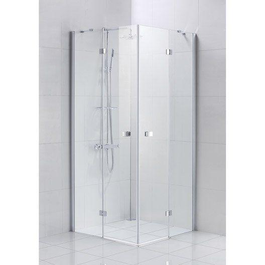 9 best salles de bain images on Pinterest Bathroom, Showers and - roulement de porte coulissante