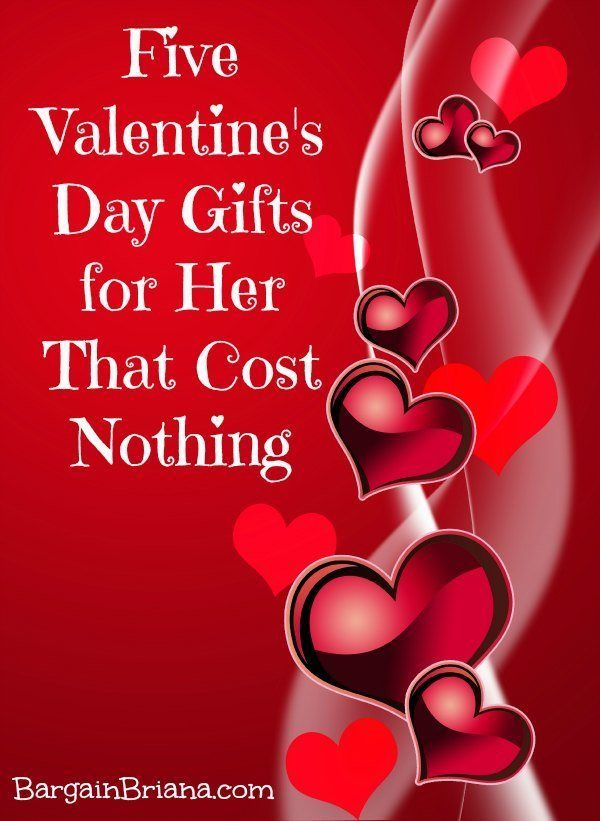 five valentine's day gifts for her that cost nothing | gift and, Ideas