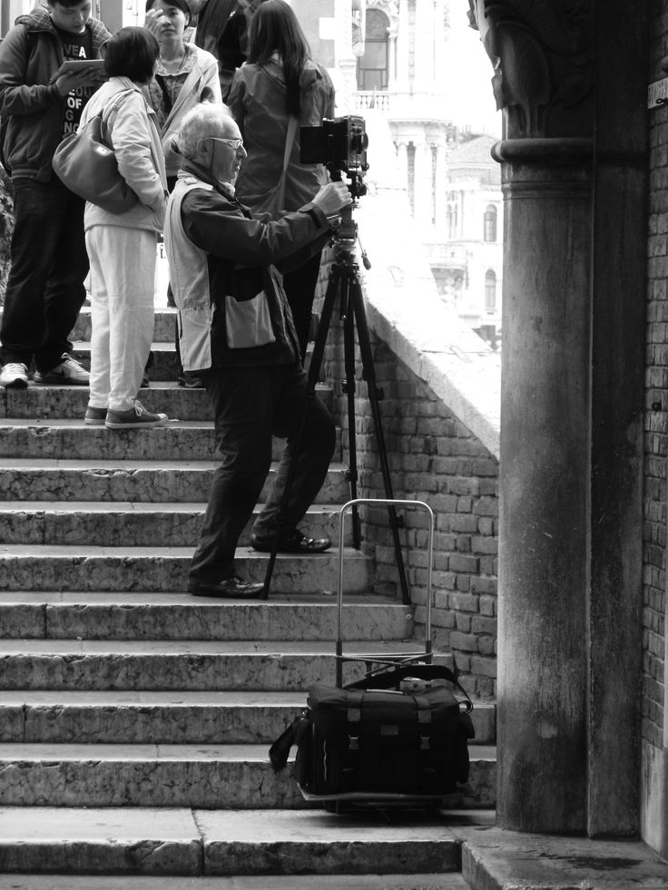 old-school photographer