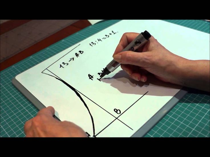 Расчет проймы и плеча в вязании спицами ч1 (Calculation armholes and sho...