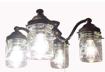 Kitchen Ceiling Fans with Lights | Jar Ceiling Fan LIGHT KIT, Oil Rubbed Bronze farmhouse-ceiling-fan ...