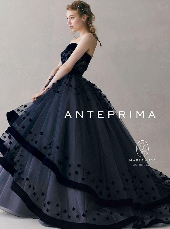 おしゃれ花嫁さんも大注目!大人かわいい *ANTEPRIMA* (アンテプリマ) のカラードレスに一目惚れ♡   ZQN♡