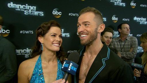 """The Olympic star and ballroom partner Artem Chigvintsev let loose on being voted off of """"Dancing With the Stars."""""""