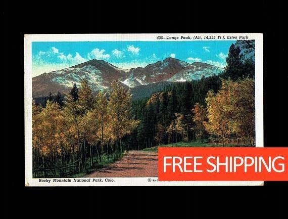 20% OFF All Purchases Colorado, Rocky Mountain #vintage #collectibles @EtsyMktgTool http://etsy.me/2nAAiY2 #postcard #colorado #postcards