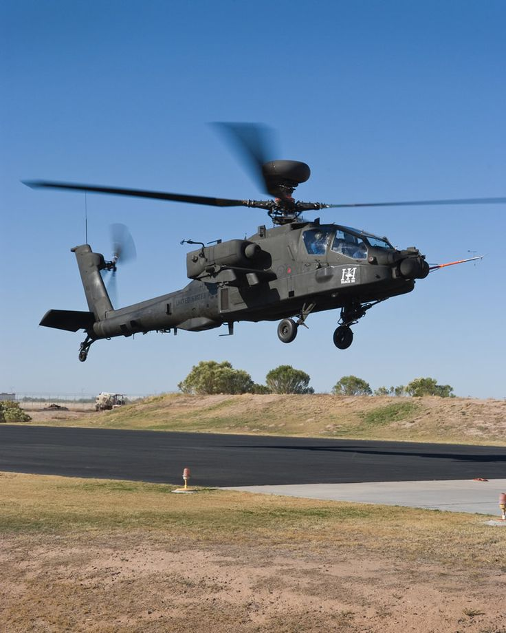 Boeing AH-64D Block III Apache attack helicopter.
