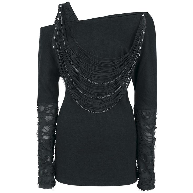 Slash - Girls Sweater by Queen Of Darkness