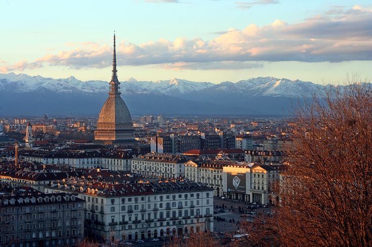 Turin, the first capital of the kingdom of Italy a city with history, great parks alongside the r...