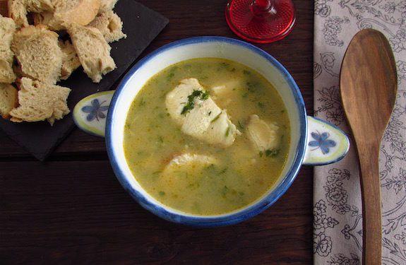 Sopa de cação à alentejana | Food From Portugal