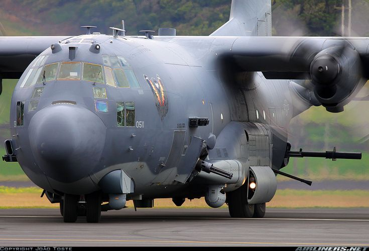 AC-130 Spector gunship...... bringing some hurt. Motto: If you run, you'll just die tired.