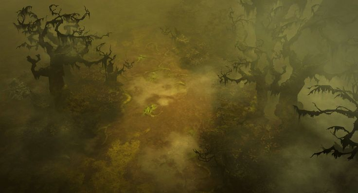 ArtStation - Diablo 3 Act1 trees, Peet Cooper