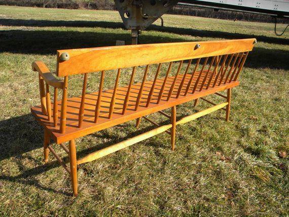 good sturdy solid strong shape vintage 1970s WOOD PINE par score571