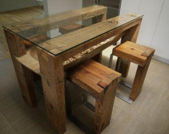 Handgefertigte wiedergewonnenen Barn Holz und von TicinoDesign