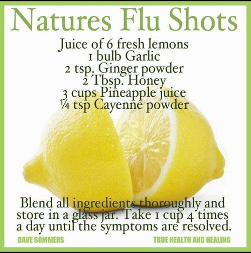 Nature's Flu Shot | off the grid