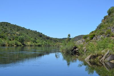 Rio Tejo em Perais - Vila Velha de Ródão (Portugal)
