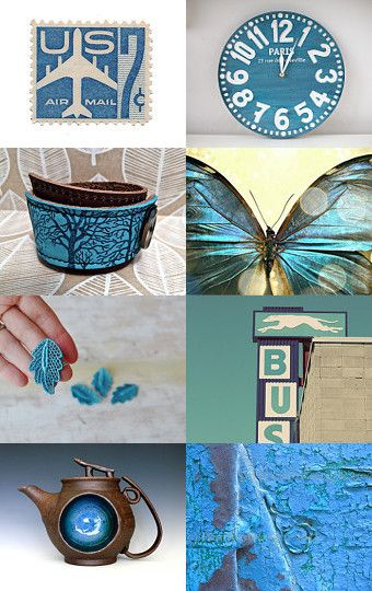robbins egg blue by Liane Doxey on Etsy-