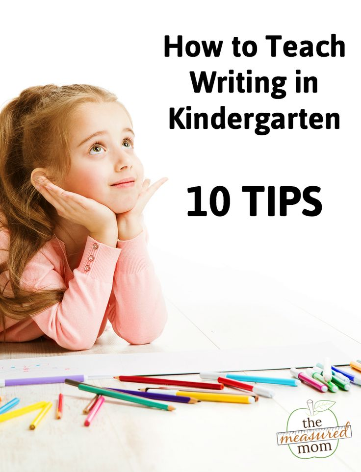 Want to know how to teach writing in kindergarten? Get 10 practical tips!