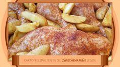 Hähnchenschenkel mit Kartoffelspalten vom großen Ofenzauberer #1446 - YouTube