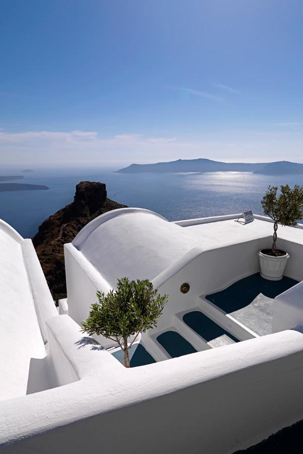 @Tholos Resort Hotel Santorini - our entrance #destination #greece #santorini