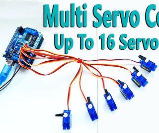 inventionhardware.com Arduino – Multi Servo de Control de Hasta 16 Con Arduino