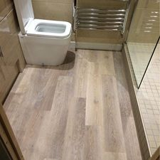 Sally Langley's Story - Karndean Designflooring Knight Tile KP99 Lime Washed Oak http://www.karndean.com/en-gb/floors/our-story/story-gallery?link=mm#story-4dc858bb-07db-4020-b70b-412bfa376304
