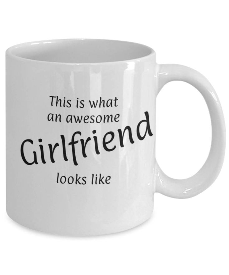 Sweetheart, Partner, Awesome looking Girlfriend, Fun coffee mug, Christmas gift Girlfriend, Girlfriend appreciation mug, Gift for her, Love by expodesigns on Etsy