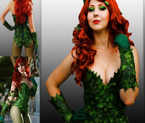 Rush order for Poison Ivy costume only option by PartyTaskBoutique