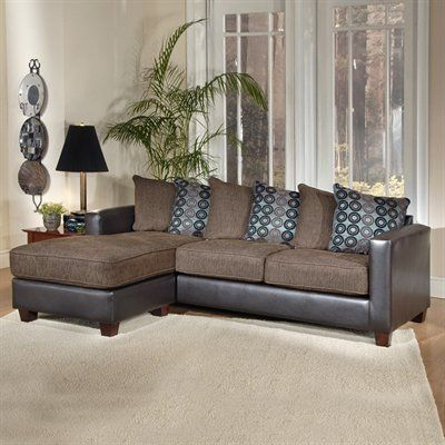 Seven Devils 7801 Laura Sofa and Ottoman Sectional