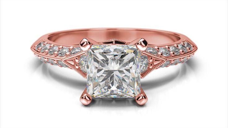 Zásnubný prsteň Nais princess