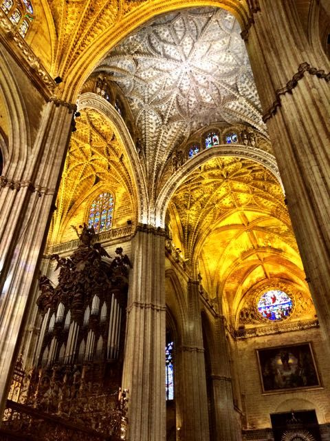 The historic architecture of Sevilla - Sevilla Cathedral.