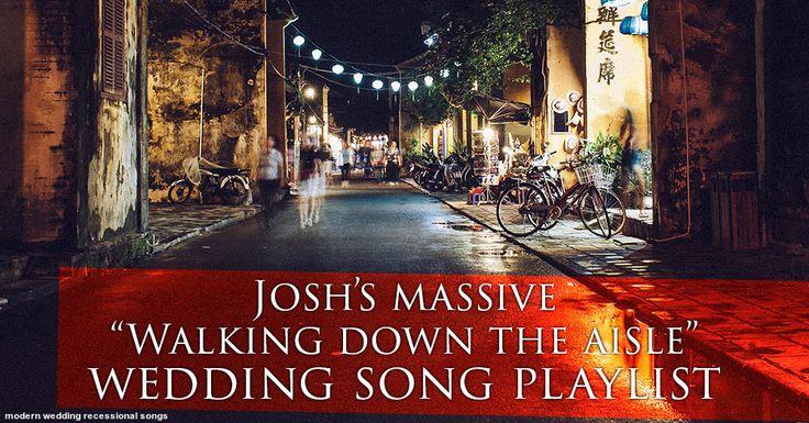 17 Best Ideas About Modern Wedding Songs On Pinterest