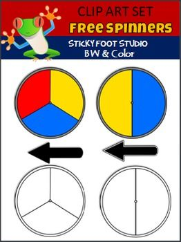 Free Spinners Clip ArtAdd this to your games file or use the graphics for any other fun project. Enjoy!This Free Spinners clip art set contains the images shown in the thumbnails. Includes color and black and white graphics. *Please leave feedback and follow my store for more freebies**Get My Full Spinners Clip Art SetSpinners Clip Art - Color and Black and White (47 graphics)I hope ...