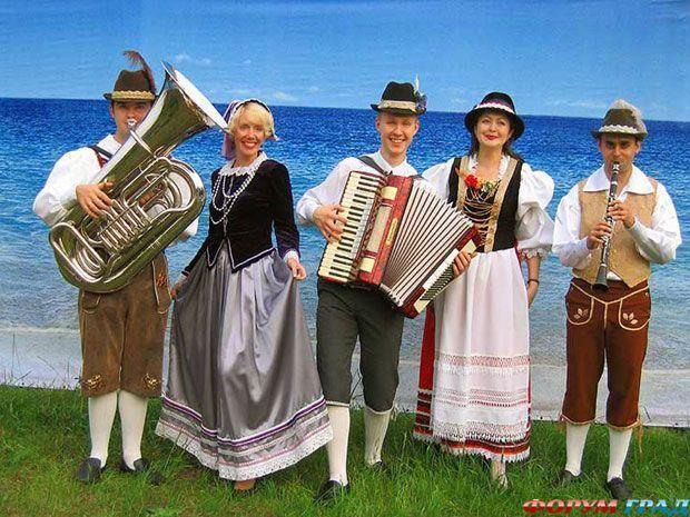 Австрия национальные костюмы